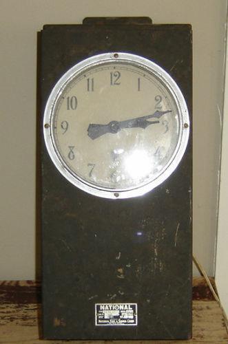 Electric School Clock Ebay
