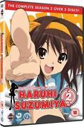 Haruhi Suzumiya DVD
