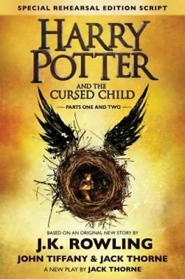 Harry Potter And The Cursed Child   Parts One   Two  The Official Script Book Of