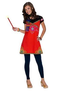 NWT Wizards of Waverly Place Alex Boho Girls Costume Dress Size 4-6 Halloween