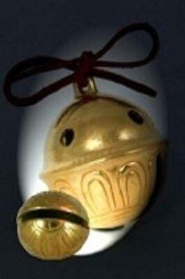 Polar Express Bell # 10 Brass Sleigh Bell We Have All sizes Help Believe!  - Polar Express Sleigh Bell