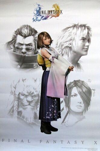 FFX YUNA POSTER  OOP Anime Manga   FINAL FANTASY X