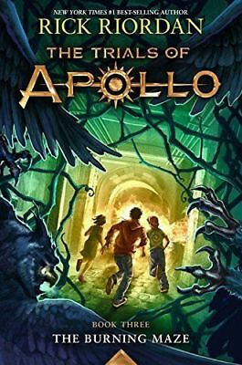 The Burning Maze  The Trials Of Apollo Book 3    Paperback