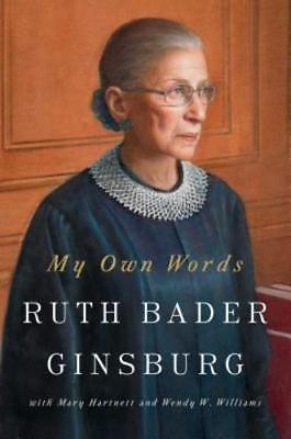 My Own Words By Ruth Bader Ginsburg  New