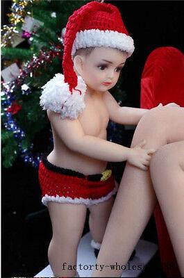 "Fashion 31""/80cm 22lb 1:1 Reborn baby girl doll solid Body Soft Silicone TOY Hot"
