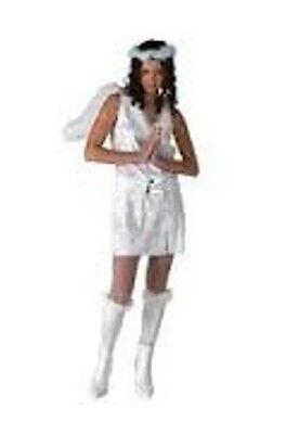 Sexy Luminosity Angel Halloween Costume Adult Medium 6-9 * Brand New - Glow Sticks Halloween Costumes