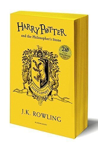 Harry Potter and the Philosopher's Stone - Hufflepuff Edition J.K. Rowling PB