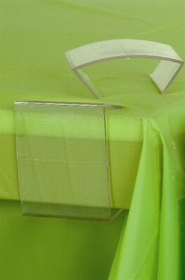 Clear Plastic Tablecloth Table Cover Clips, - Plastic Table Covers Clear