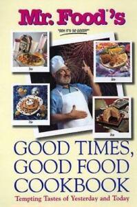 New mr foods good times good food cookbook 9780688167776 ebay image is loading new mr food 039 s good times good forumfinder Images