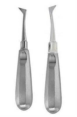 2 Cryer Elevator Left Right Dental Instruments Tools