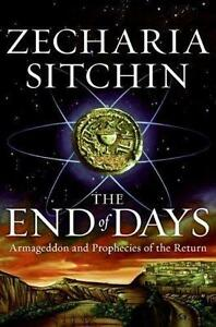 ▀▄▀The End of Days &The Lost Book of Enki by Zecharia Sitchin HC