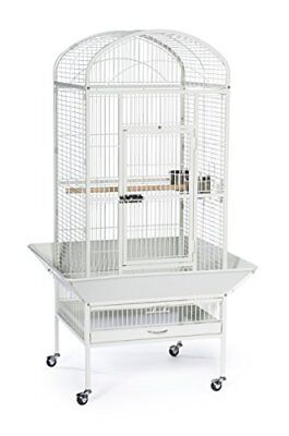 Prevue Pet Products Large Dometop Bird Cage Chalk White 34522