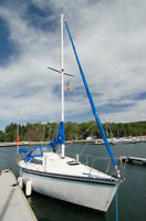 Kelt 25' Sailboat with Honda 9.9 4 Stroke Outboard