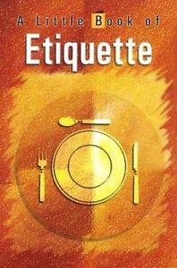 A Little Book of Etiquette, Vijaya Kumar