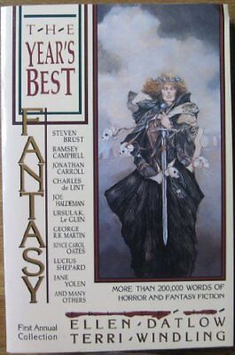 The Years Best Fantasy  First Annual Collection