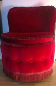 Shabby Chic Boudoir Chair