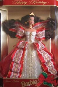 1997 Special Edition Happy Holidays Barbie Doll By Mattel
