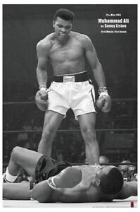 MUHAMMAD-ALI-vs-LISTON-POSTER-1st-ROUND-1st-MINUTE-LICENSED-BRAND-NEW