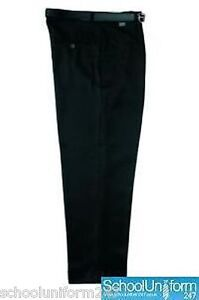 Zeco-Boys-Men-Short-Leg-Waist-Trousers-School-Uniform
