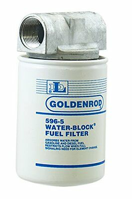 Goldenrod 596 Canister Water-block Fuel Tank Filter With 1 Npt Top Cap