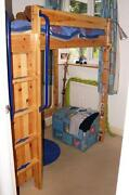 High Sleeper with Wardrobe