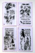 Acrylic Stamp Lot
