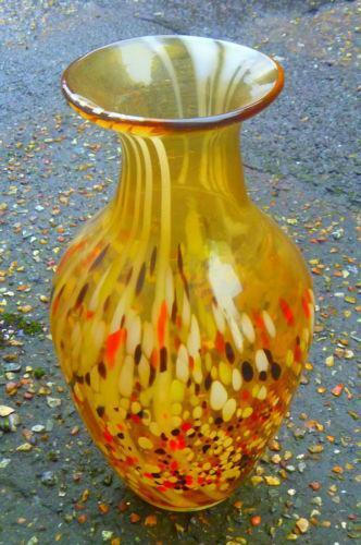 Vintage Large Glass Vase Ebay
