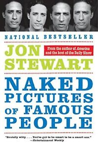 Naked Pictures of Famous People-Jon Stewart soft cover + bonus