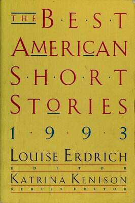 Best American Short Stories, 1993 by Endrich, Louise
