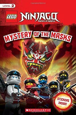 Mystery of the Masks  LEGO NINJAGO Reader  17