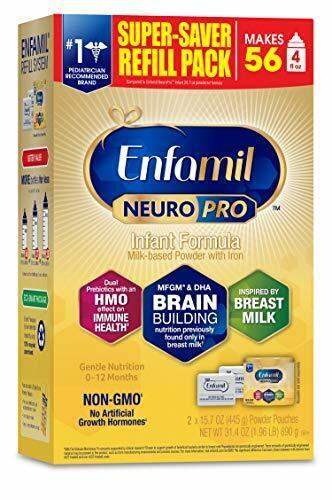 Enfamil NeuroPro Baby Formula Powder Refill, 31.4 oz(Expired in 08/01/2021)