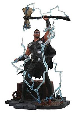 Diamond Select Toys Marvel Gallery Avengers Infinity War Movie Thor PVC Diorama