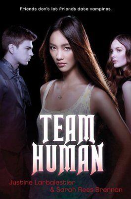 Team Human by Justine Larbalestier, Sarah Rees Brennan  ()