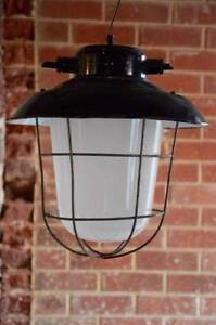 vintage industrial factory bunker pendant ceiling light Adelaide CBD Adelaide City Preview