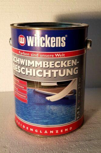 Packung 1 Lt PVC Flüssigkeit Flag Pool Farbe Hellblau