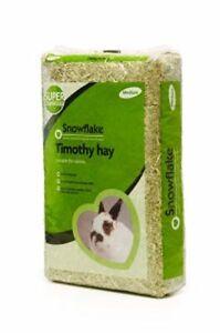 Snowflake Natural Pet Bedding Timothy Hay Rabbit Guinea Pig & Small Pets