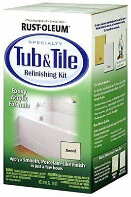 2-part Bathtub Tile Epoxy Acrylic Formula W Smooth Porcelain Like Finish 32oz