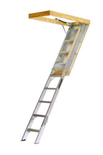 Aluminum Attic Ladder Ebay