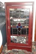 Tall Glass Display Cabinet