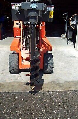 Mini Skid Steer X1500 Auger Drive 2 Hex Drive W 12 X 48 Rock Ripper Bit
