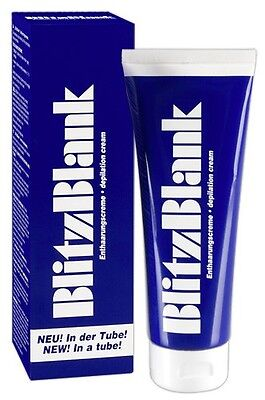 BlitzBlank Haarentfernung Intim Enthaarungscreme 125 ml Tube Enthaarung Creme|14