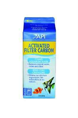 API Fish Tank Activated Filter Carbon, Half Gallon Carton, Net Weight 22-Ounce