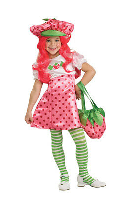 Deluxe Strawberry Shortcake Toddler Costume 2T-4T Toddler (Girls Strawberry Shortcake Costume)
