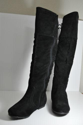 Womens Boots Lace Up Back Ebay