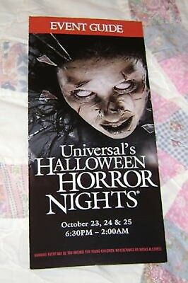 HALLOWEEN HORROR NIGHTS 18 UNIVERSAL MAP EVENT GUIDE #4