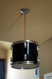 yamaha light made from a drum