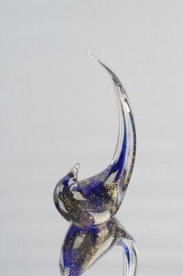 Home Design Glass Sculpture (M Design Art Glass Hand GlassSmall Bird Sculpture 2)