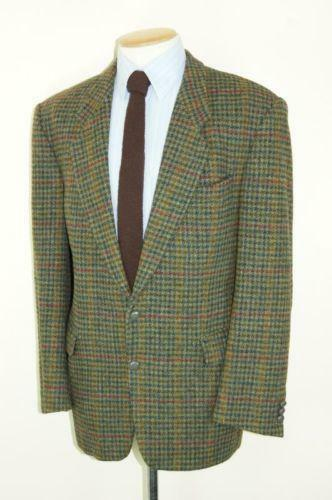 Harris Tweed Jacket 46 Ebay