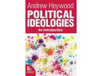 Political Ideologies: An Introduction, Andrew Heywood.