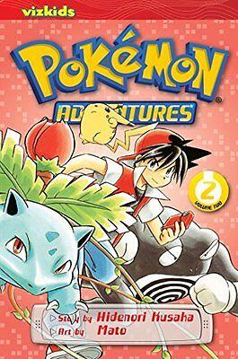 POKEMON ADVENTURES GN VOL 02 RED BLUE, Kusaka, Hidenori Book The Cheap Fast Free